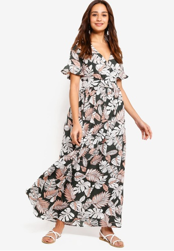 ZALORA multi Wrap Maxi Dress A7760AA130C0F3GS_1