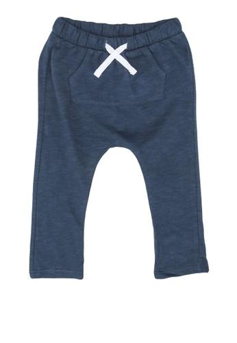 MANGO BABY blue Cotton Trousers 51E4EKA89239F9GS_1