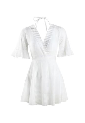 Its Me white Sexy Gauze Big Backless One-Piece Swimsuit C2FA7USC938FCFGS_1