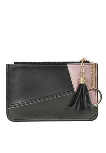 HAPPY FRIDAYS Color Matching Leather Wallet JN30 DE91FACFCCEC0CGS_1