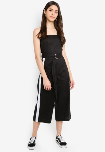 Factorie black and white Strapless Jumpsuit 38D6EAA3F050FEGS_1