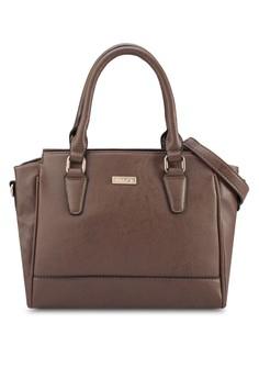 Unisa Faux Leather Convertible Shoulder Bag