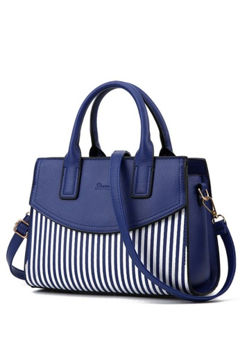 TCWK blue Ladies Shoulder Bag TC258AC00WRRMY_1