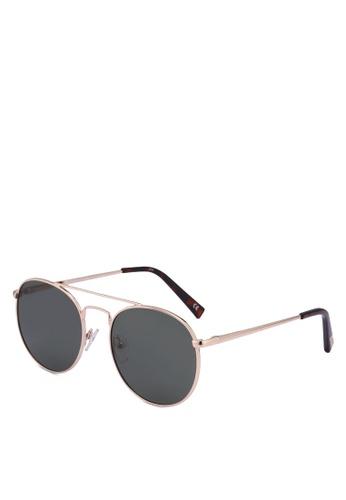 Le Specs gold Revolution 1802167 Sunglasses FA85BGLF9D4F1EGS_1