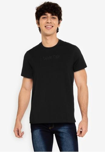 Calvin Klein multi Calvin Klein Jeans Embossed LOGO Slim Short Sleeve TShirt 6A450AAB9A8E81GS_1