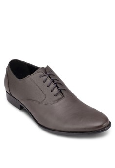 Saffiano Faux Leather Oxford Shoe