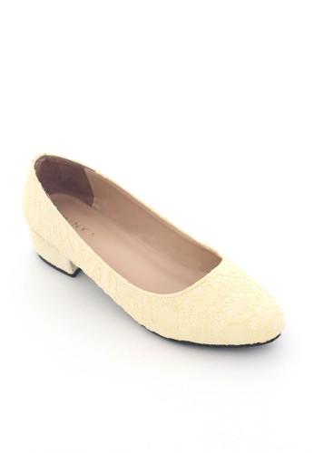 MINKA yellow ASH Pastel Yellow Low Heels MI006SH33XZEID_1