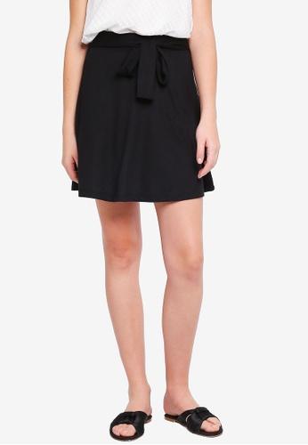 Pieces black Nabia Skirt 0D3BDAAC0E89E2GS_1