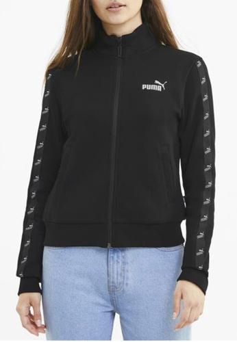 puma black Amplified Full Zip Women's Track Jacket FB550AA20BBD04GS_1