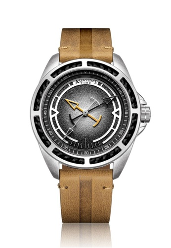 Assassin's Time brown Assassin's Time TRIPLE Brown Leather 8DFE6AC014D323GS_1