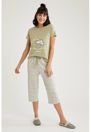 DeFacto grey Woman Homewear Knitted Set CD095AA7819B05GS_1