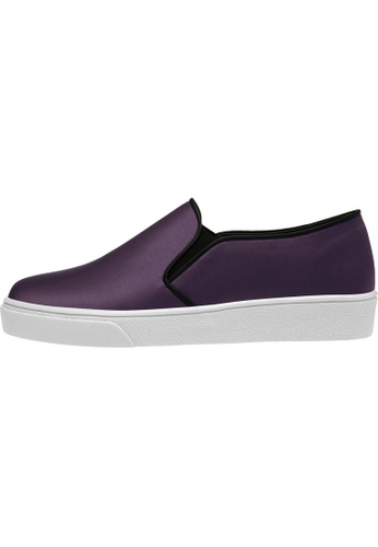 paperplanes SNRD-131 Satin Tall Up Casual Slip-Ons Shoes US Women Size PA110SH84AEXHK_1