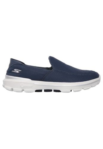 Skechers navy Skechers Men GOWALK 3 - 54045NVY A7D2FSHE9DB73CGS_1