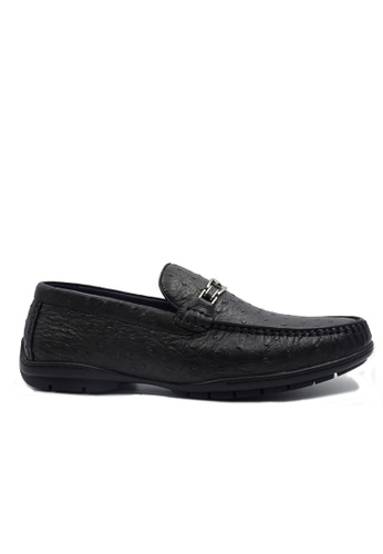 Goldlion black Goldlion Premium Loafer Shoes in Black (HSH209DR92B-99) 1723DSHB0BDED3GS_1