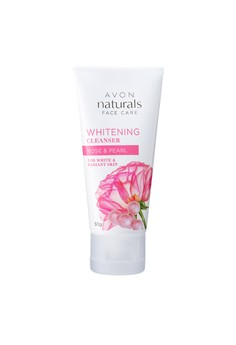 Avon Naturals Rose and Pearl Whitening Cleanser