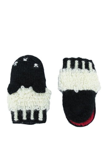 niko and ... black Knit Gloves 60C71AC2905DF9GS_1