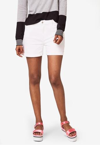 ESPRIT white Denim Shorts BADB9AA4761C89GS_1