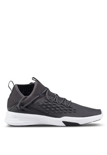 Puma grey Mantra Fusefit Running Shoes 7F515SH1016E94GS_1