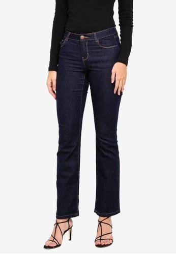 Dorothy Perkins blue R: Indigo Ashley Bootcut Jeans 4D870AAA0D9E6CGS_1