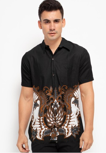 Rianty Batik black Hem Slimfit Alzero BD799AA7B86E70GS_1