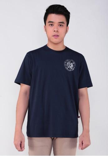 GatsuOne navy Toyama t-shirt 9C35EAA6850C7EGS_1