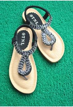 TNL Rania Sandals (Black)