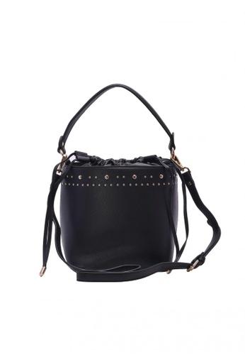 Bata black Women's Shoulder Bag FA096AC6AAD607GS_1