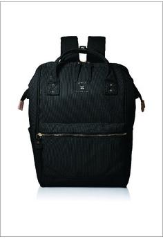 e41bd0cd35 Anello black Rucks Re: Model Base Backpack AT-B2571-BK Black  F302FACCD777A3GS_1