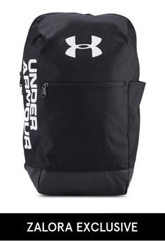 a651b2b2fb8a Under Armour black UA Patterson Backpack 98F96AC439BBC5GS 1