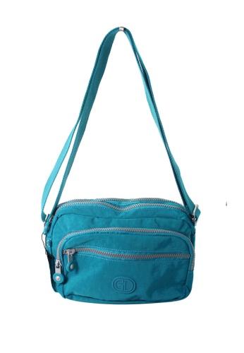 G.DAVIN blue G.Davin Nylon Crossbody bag 77B72ACB546C32GS_1