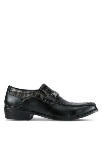 Albertini black Formal Slip On Shoes AL779SH0SAWWMY_1