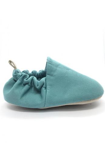 Poco Nido green Poco Nido Plain Turquoise Plain Mini Shoe C733EKS5761459GS_1