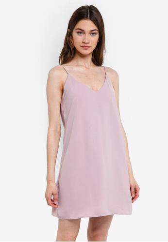 Something Borrowed pink Camisole Slip Dress FC4DCAA4739B25GS_1