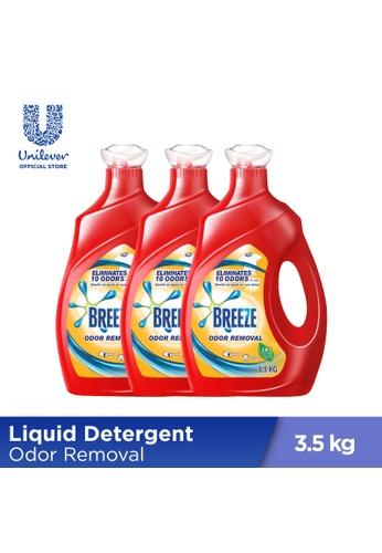 Breeze Breeze Odor Removal Liquid Detergent 3.5KG x3 89D87ESB0B7235GS_1