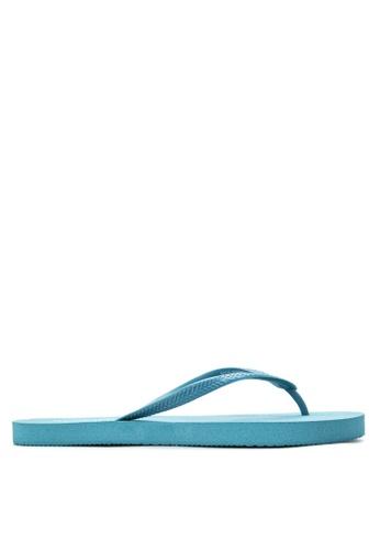 BENCH blue Basic Rubber Slippers BE550SH62LVHPH_1