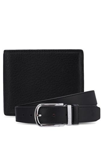 Swiss Polo black Belt & Wallet Gift Set SW912AC0RX8YMY_1