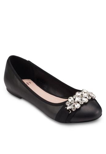esprit衣服目錄閃飾平底鞋, 女鞋, 鞋