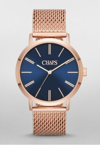 CHAPS Whitesprit tsim sha tsuiney鍊帶腕錶 CHP3023, 錶類, 休閒型