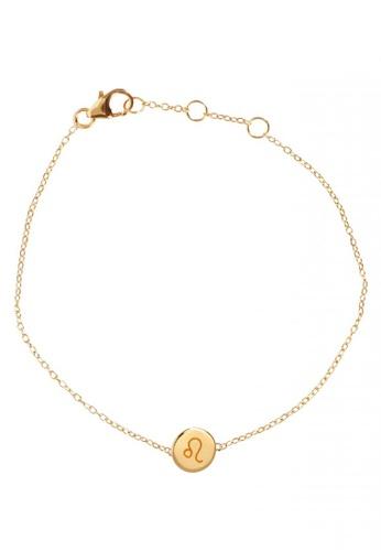 RAM Jewelry gold Zodiac Bracelet - Leo 3143EACDE9E343GS_1