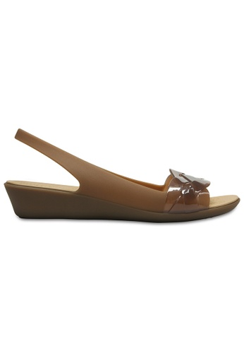 f6020459a377 Crocs gold and brown Crocs Women s Crocs Isabella Slingback Brz Gold  CR883SH0SI9JMY 1