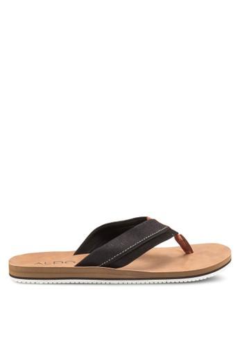 ALDO black Galoisa Sandals AL087SH90RBXMY_1