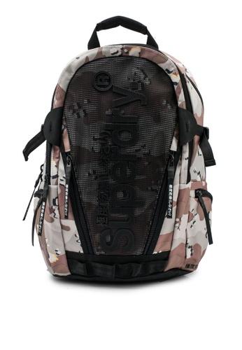 SUPERDRY brown Desert Tarp Backpack 4F857ACA7040ECGS_1