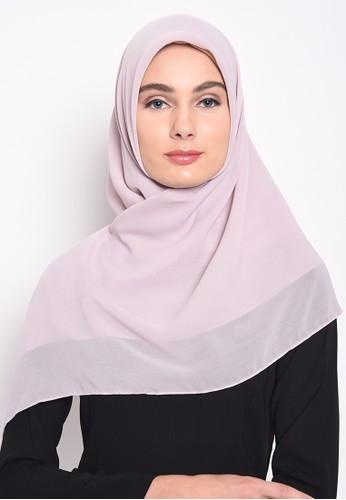 Diindri Hijab grey Superlight Square Hijab - Soft Grey 1A34CAA1C0D324GS_1