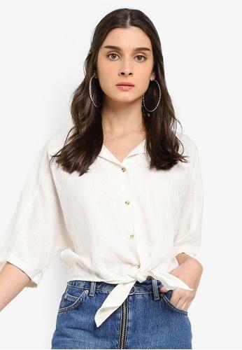 Cotton On white Cute Resort Shirt 5A85DAAFE0FCD3GS_1