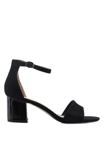 BETSY black Aubree Sandal Heels 7FA5CSH5B9E356GS_1