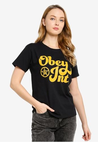 OBEY 黑色 Obey Innings Tee 806B3AA005370FGS_1