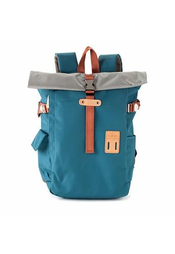 Harvest Label blue Harvest Label Silver Wing Backpack - Blue Sax 18206AC4BEEC3AGS_1