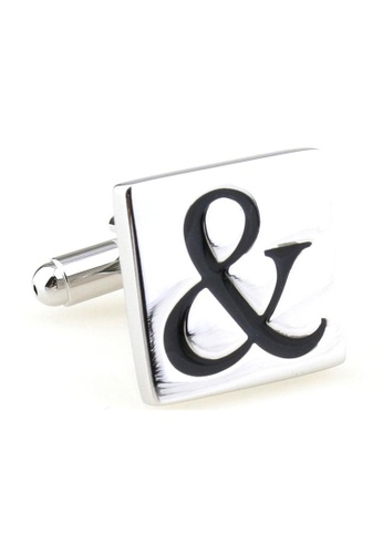 The Little Link Cufflinks silver And Then Cufflinks TH089AC33RVESG_1