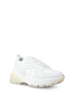 012a0b125de 30% OFF River Island Gum Heel Cap Sole Lace Up Sneakers RM 305.00 NOW RM  213.90 Available in several sizes