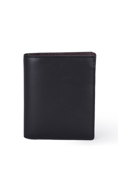 Card holder for men online zalora singapore faire leather co black specter vt1 bifold wallet with cardholder black slim reheart Images